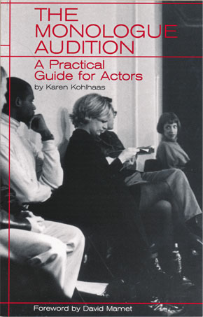 MonologueAuditionBook